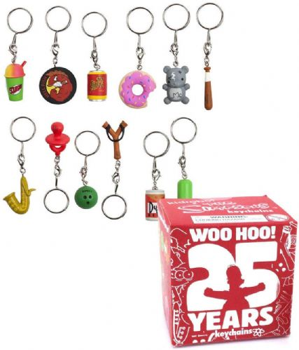 1 x Simpsons Kidrobot 25 Years Blind Box Keychains